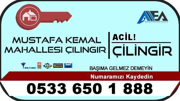 Mustafa Kemal Mahallesi Çilingir Servisi